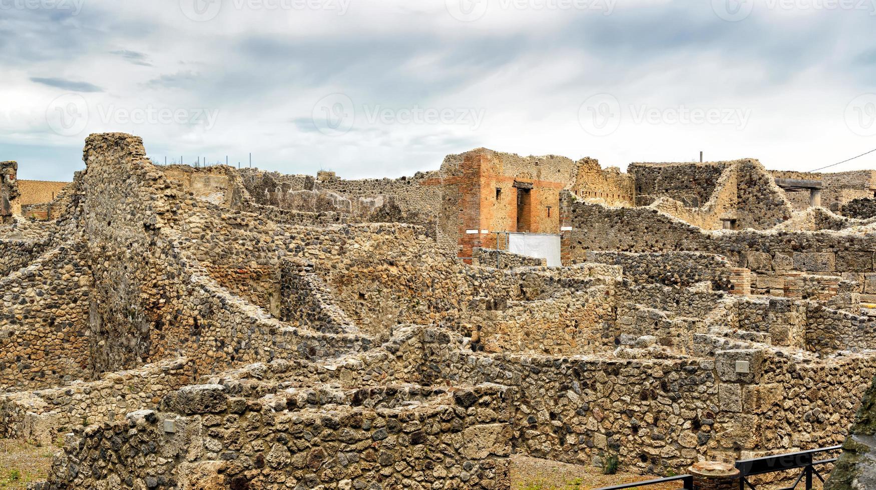rovine di pompei, italia foto
