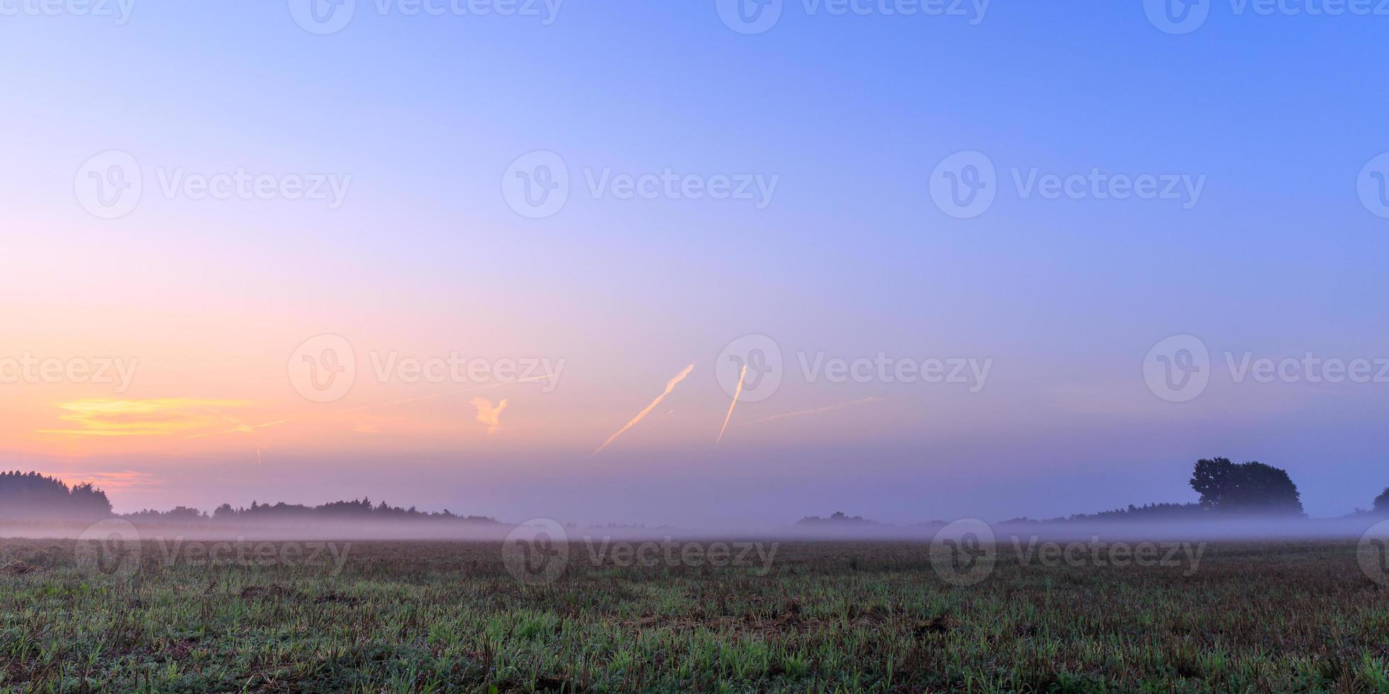 nebbiosa alba bavarese foto