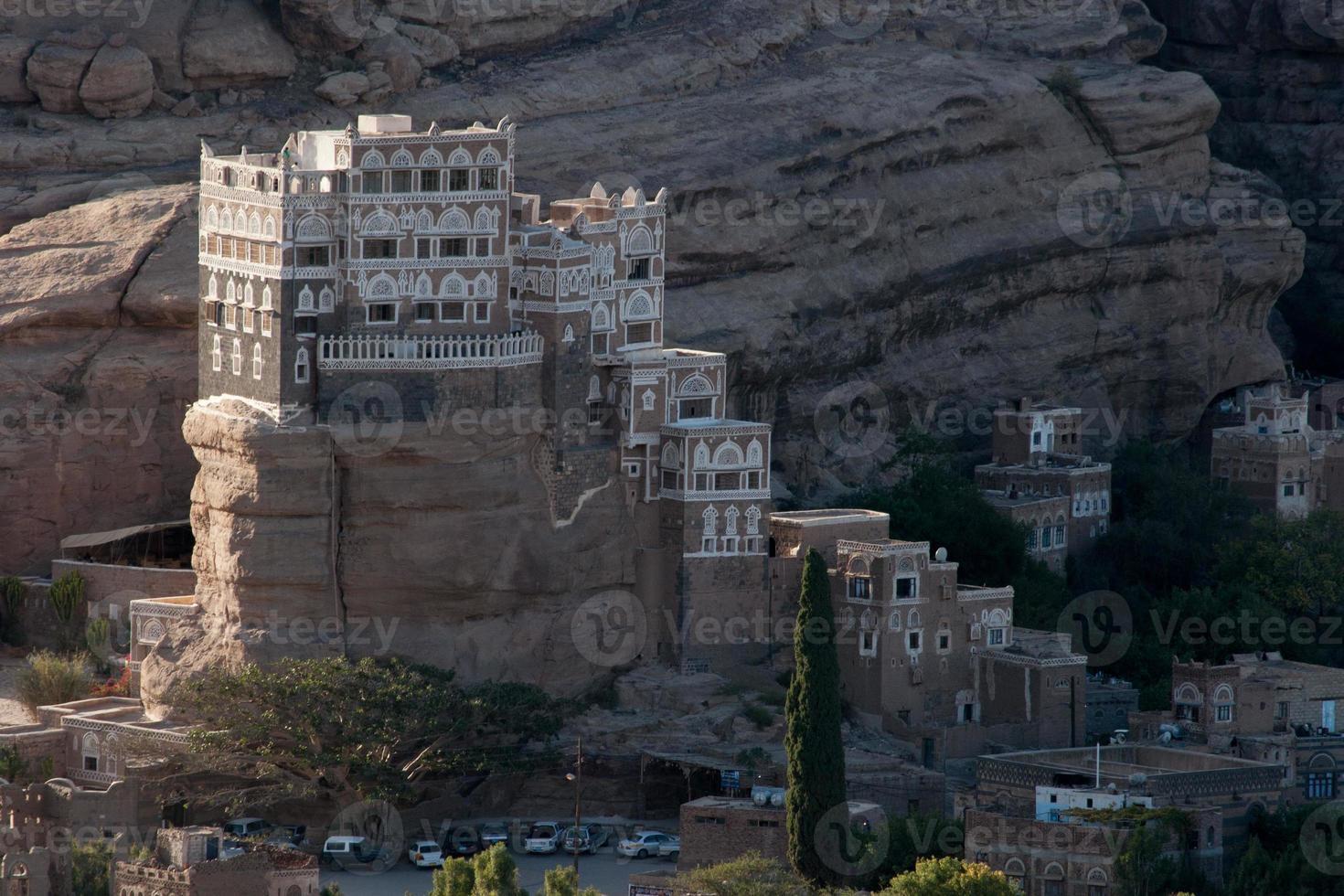 """""""dar al hajar"""" nello yemen foto"""