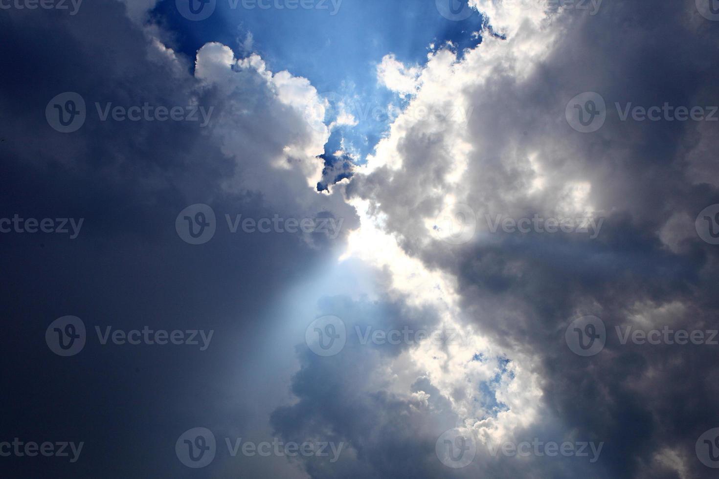 cielo azzurro foto