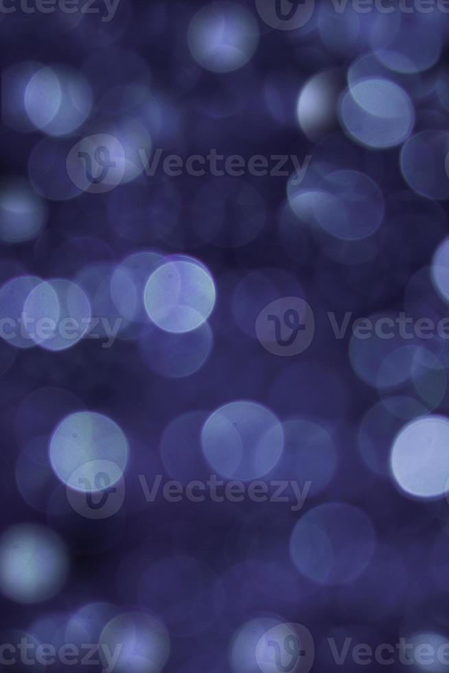cerchi di luce blu su sfondo 3d foto