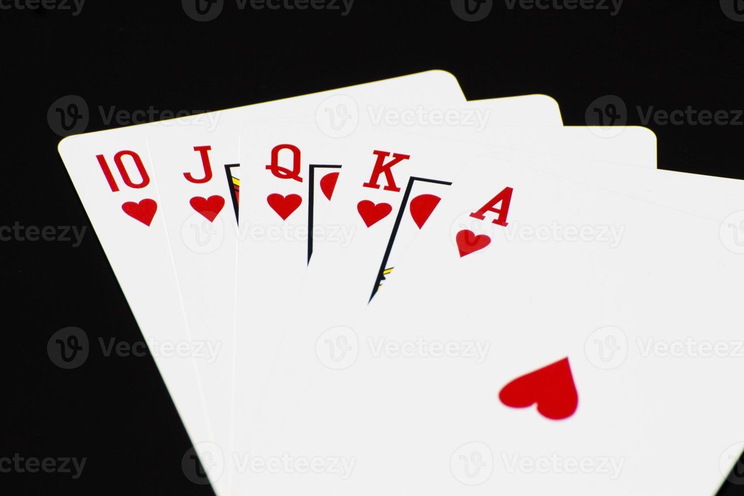 carta da poker foto