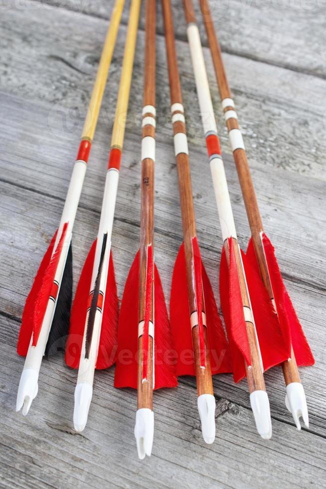 frecce fatte in casa foto