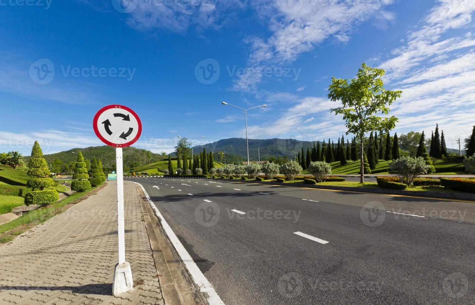cartello stradale foto