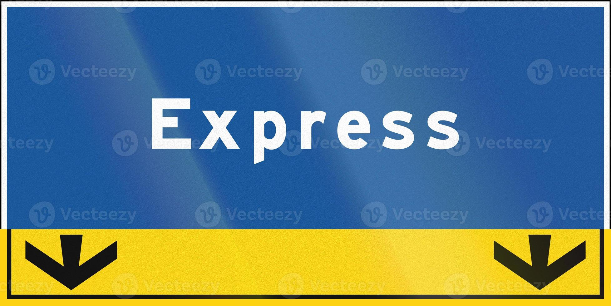Express Lane in Ontario - Canada foto