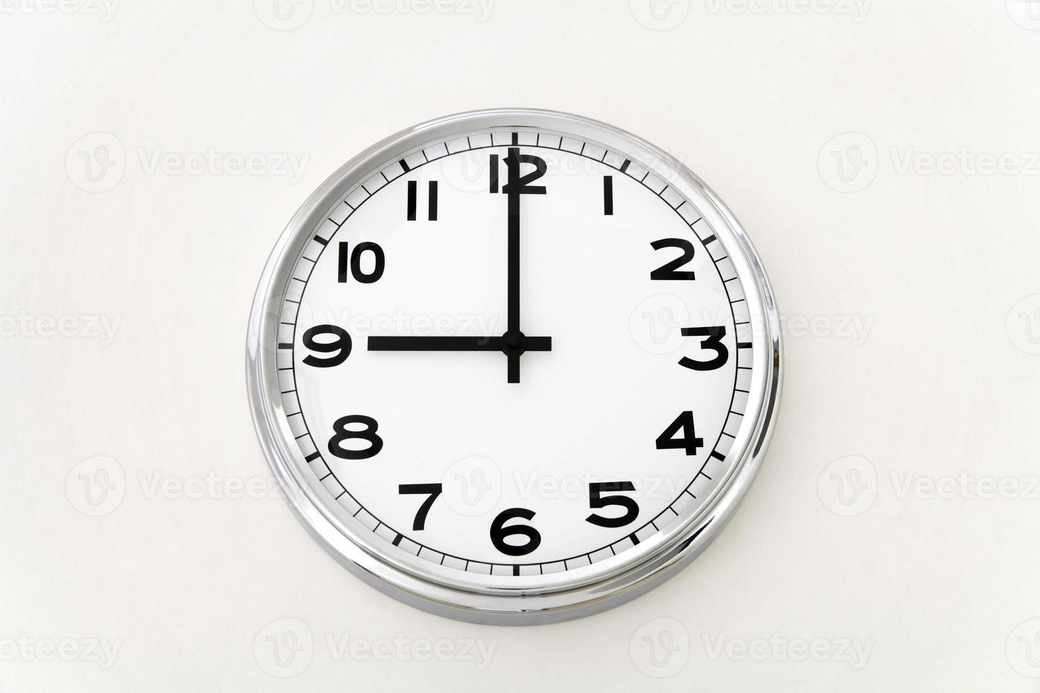 orologio da parete, misurazione del tempo, da vicino foto