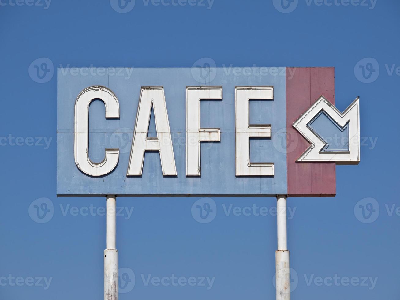 segno di caffè generico vintage foto