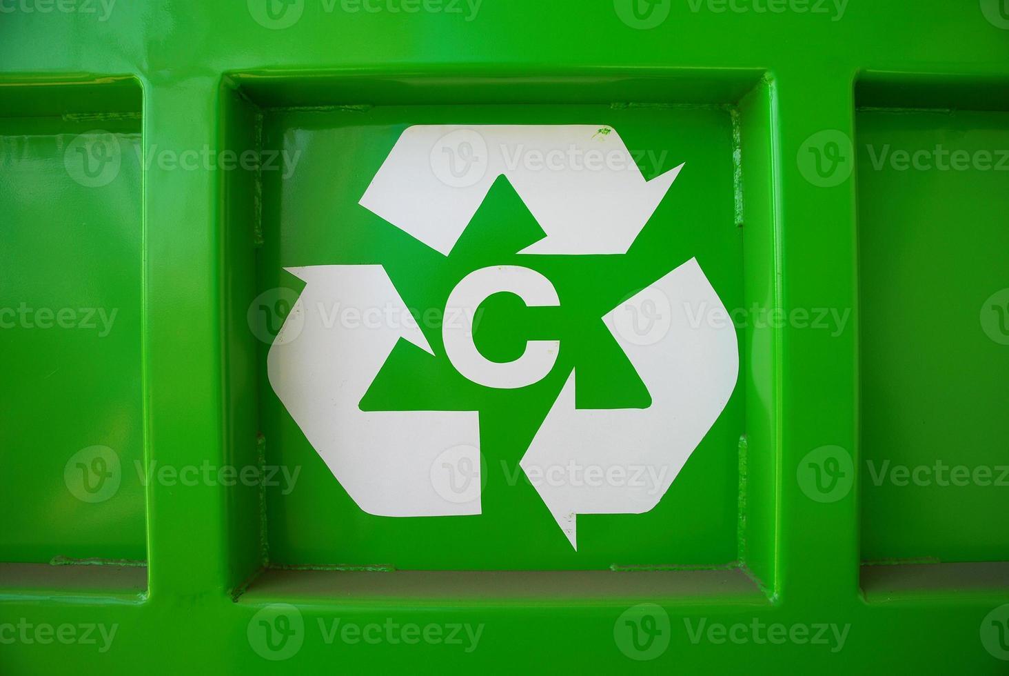 simbolo del riciclaggio foto
