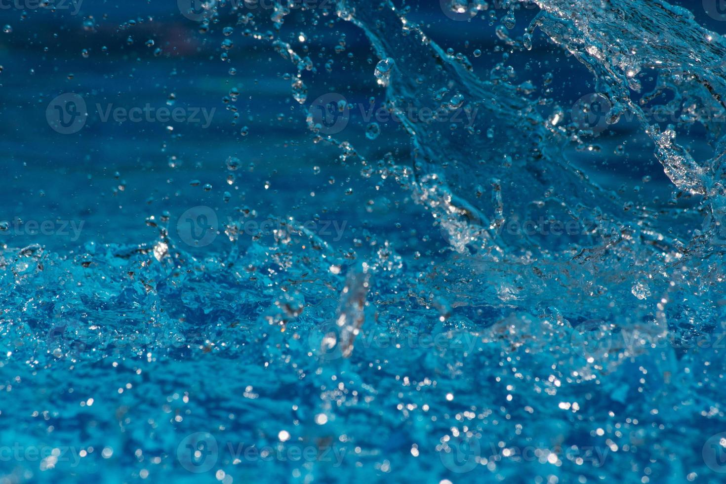 spruzzi d'acqua sullo sfondo foto