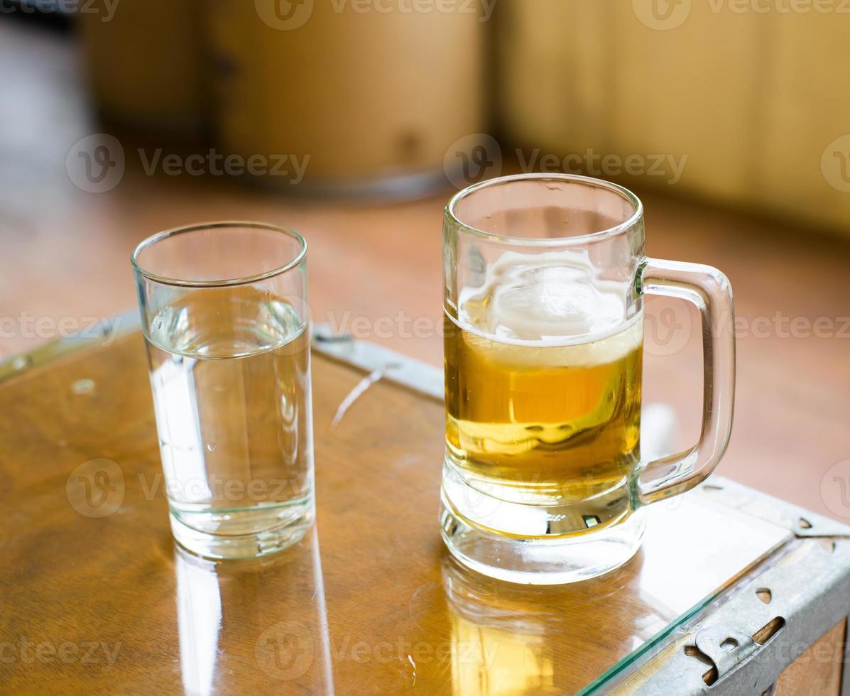 acqua o birra foto