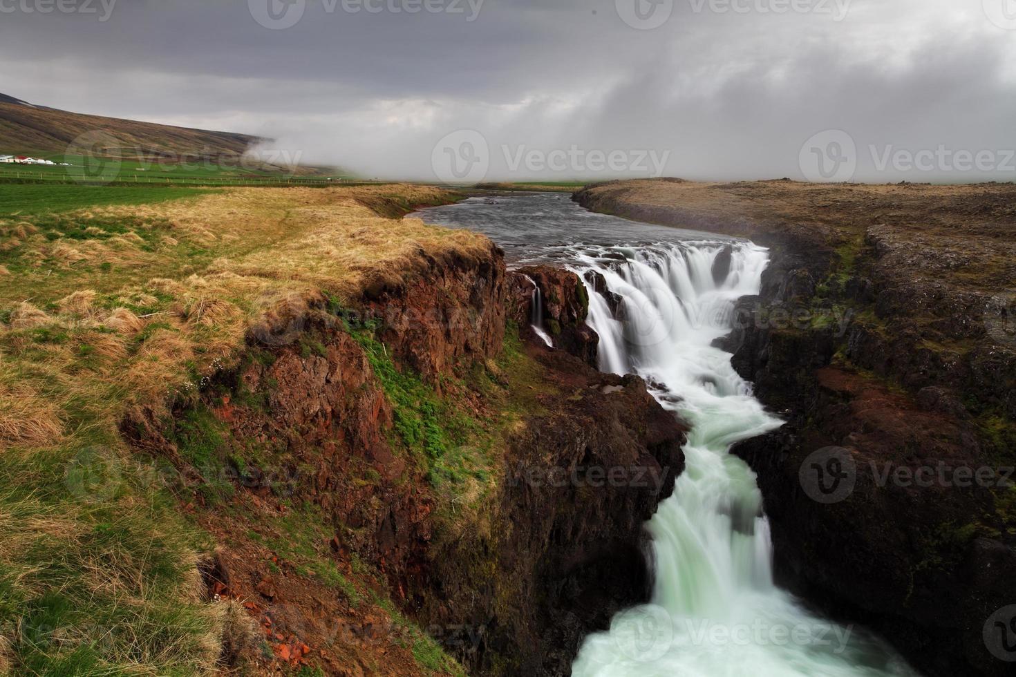 canyon kolugil - islanda foto