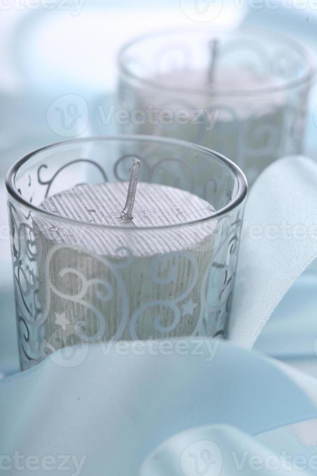 candele di natale - girato in studio foto