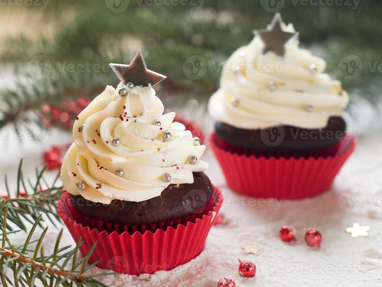 cupcake di Natale foto