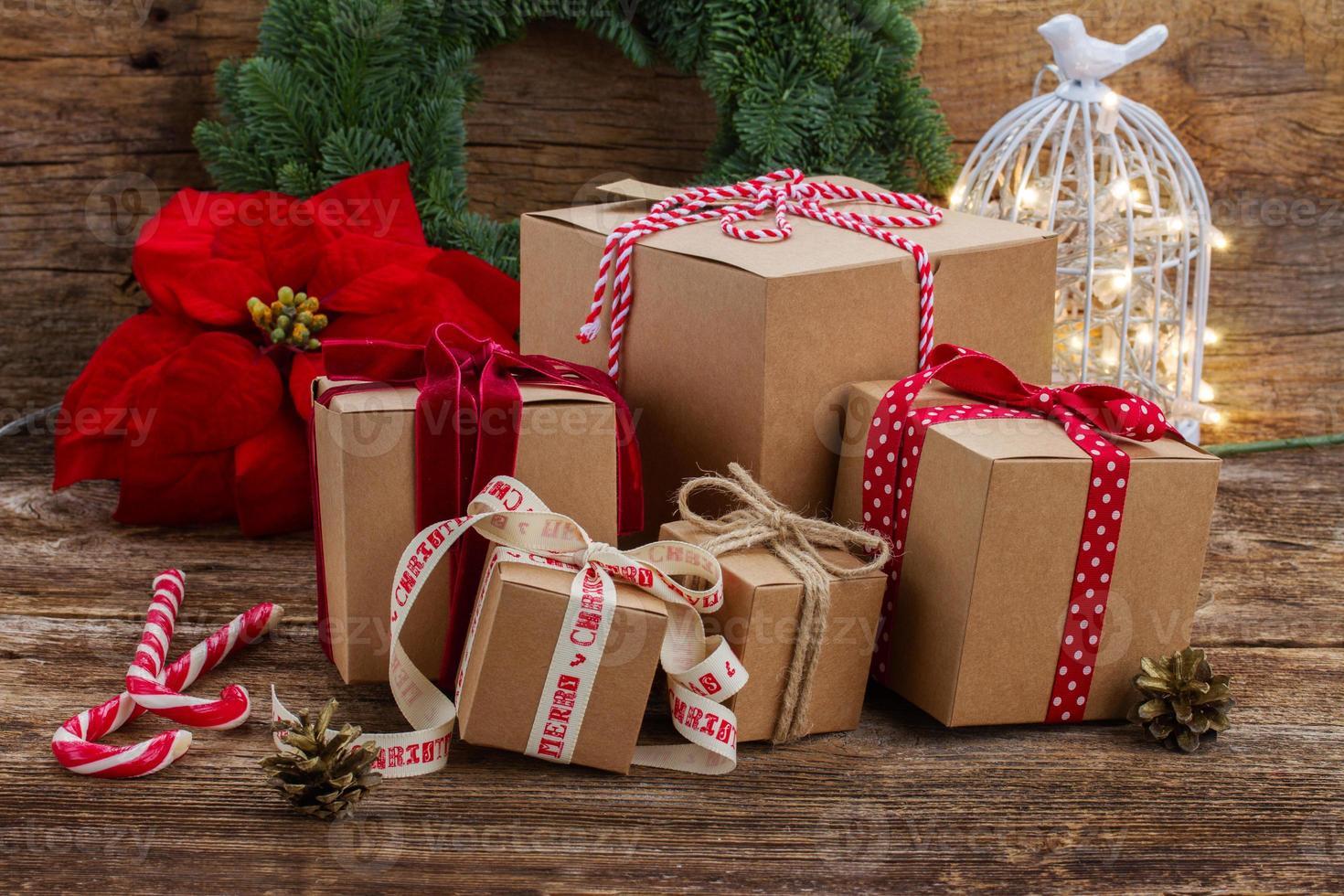 scatole regalo fatte a mano foto