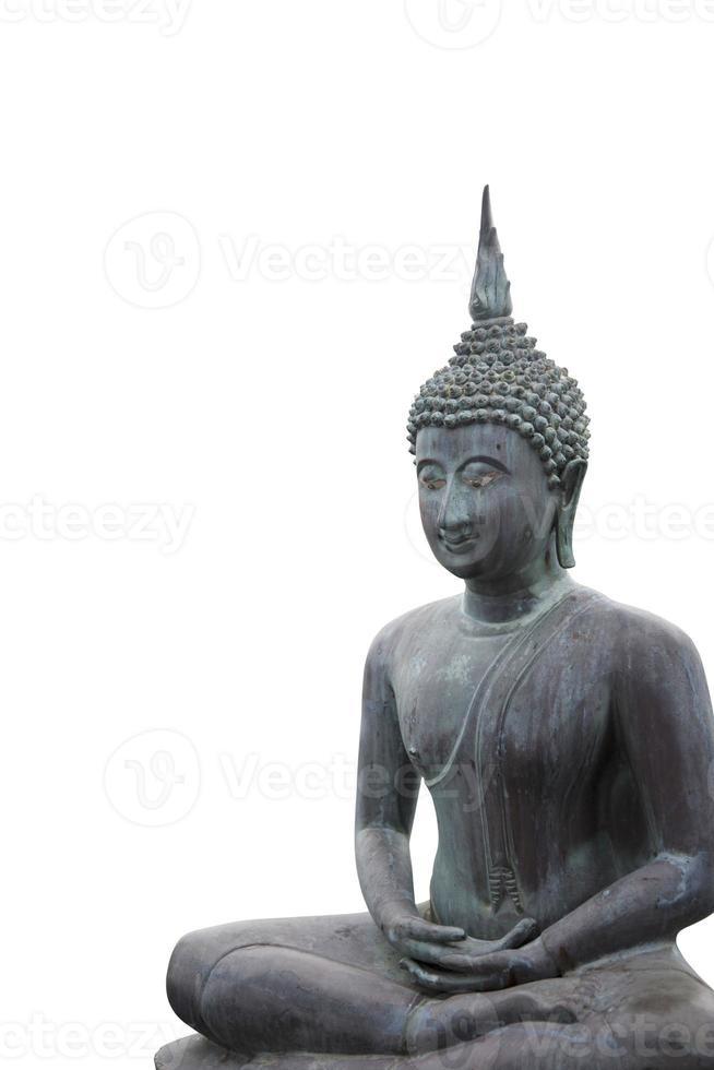 bella statua del buddha foto