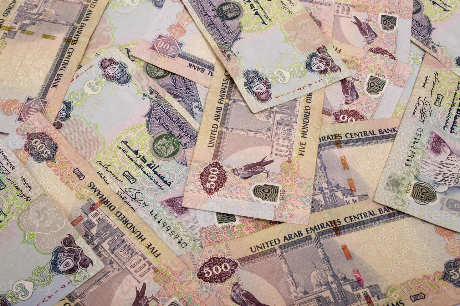 contanti degli Emirati Arabi Uniti foto