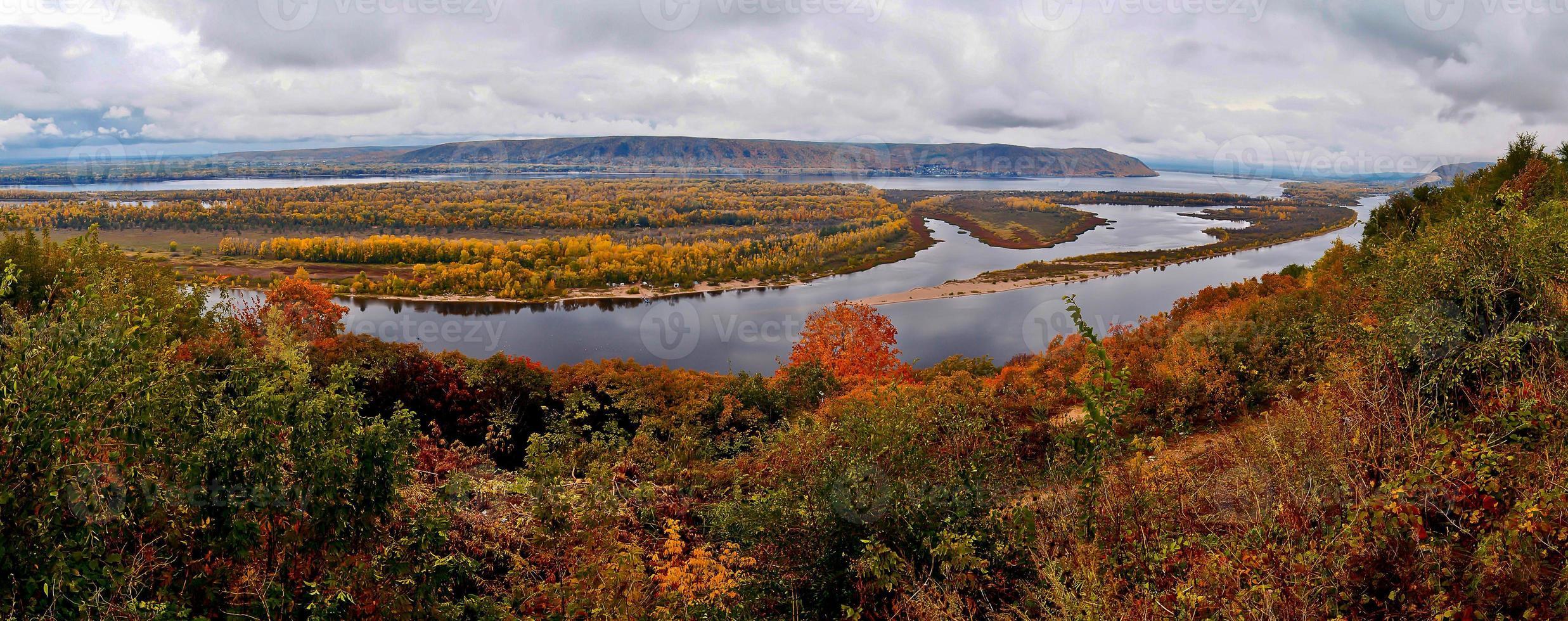autunno volga. foto
