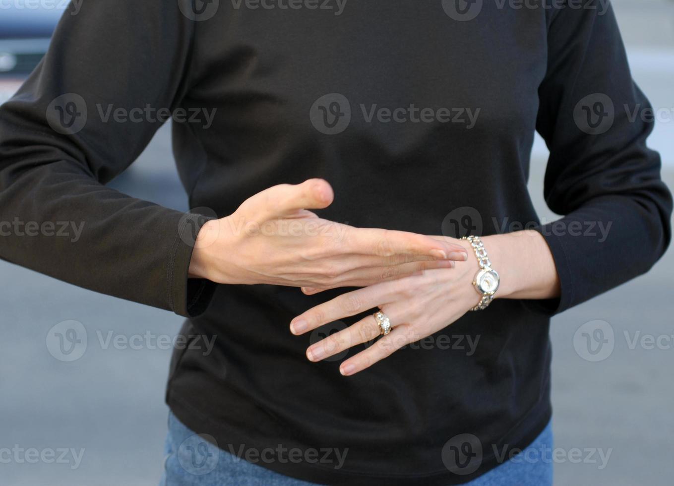 linguaggio dei segni foto