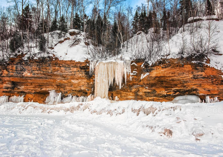 neve e ghiaccio foto
