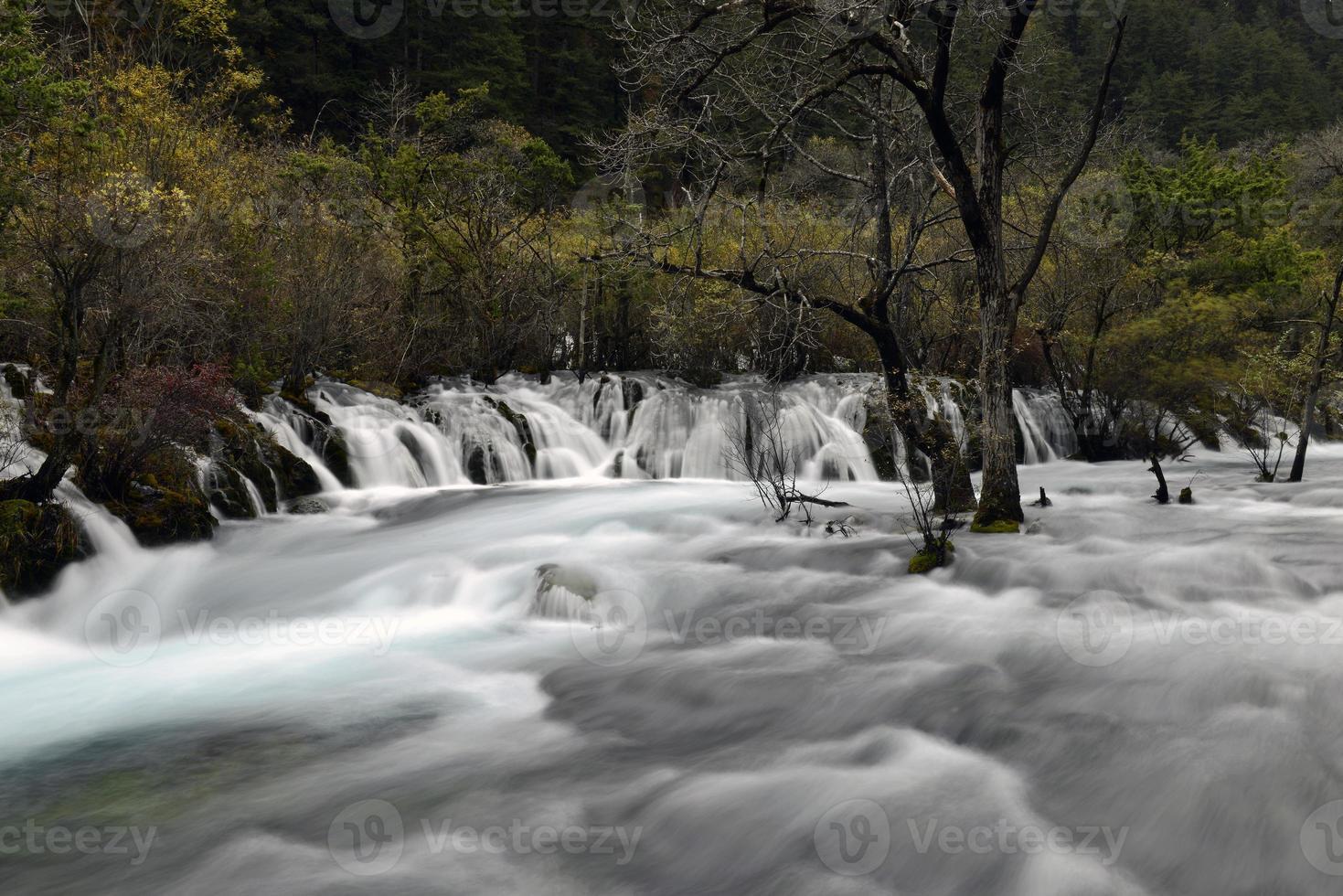 caduta di shuzheng, jiuzhaigou foto