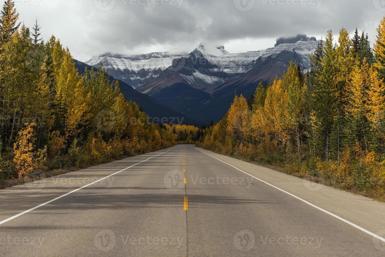 autostrada autunnale foto