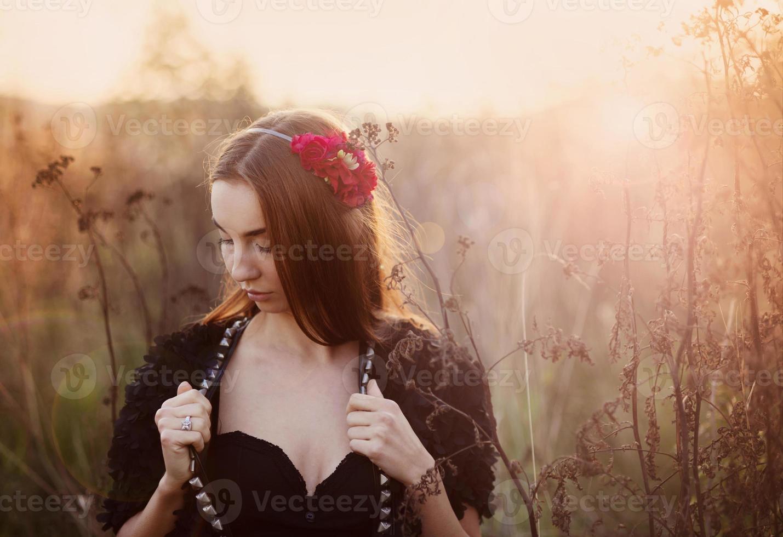 ragazza d'autunno foto