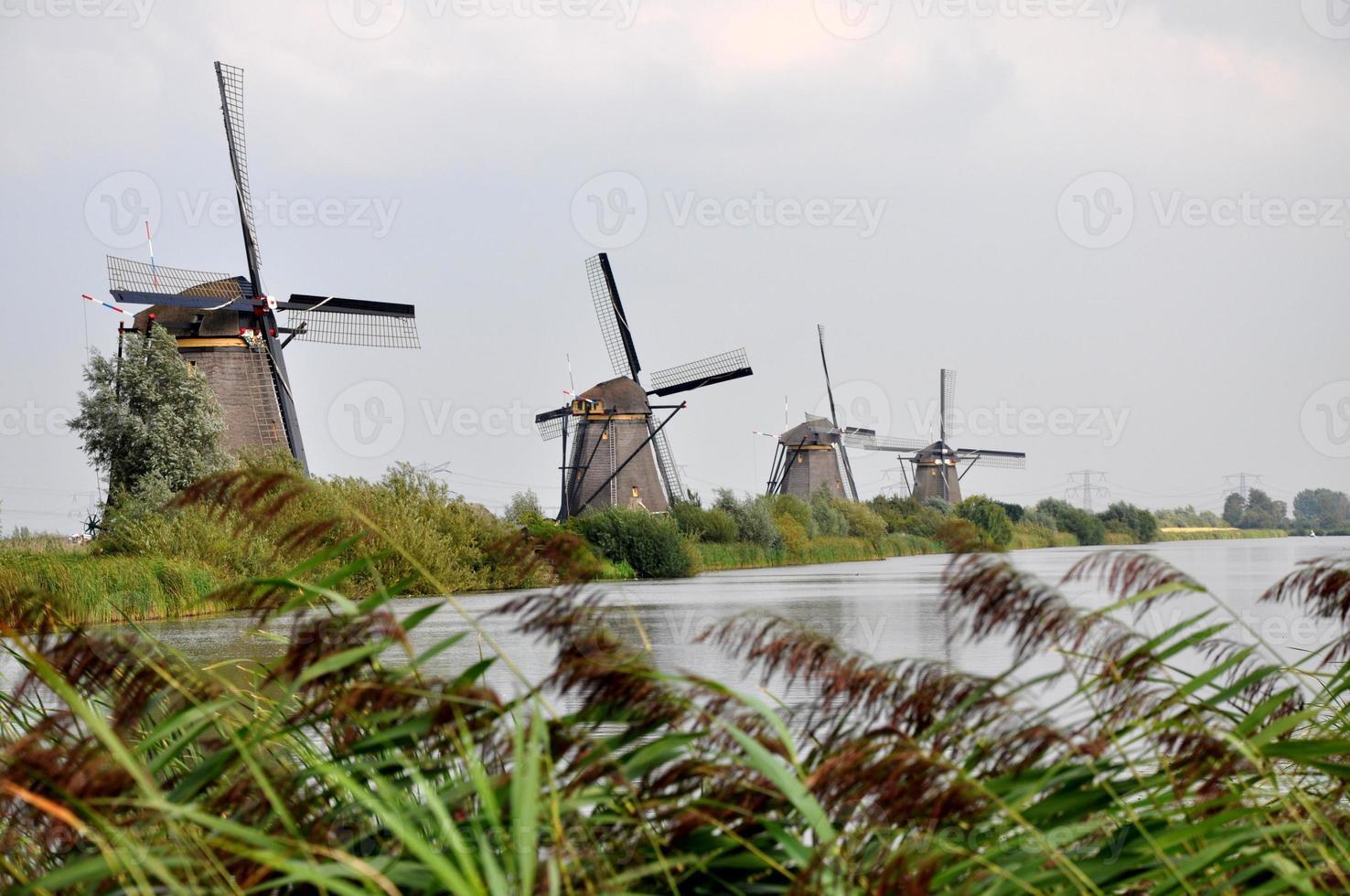 mulino a vento a kinderdjik foto