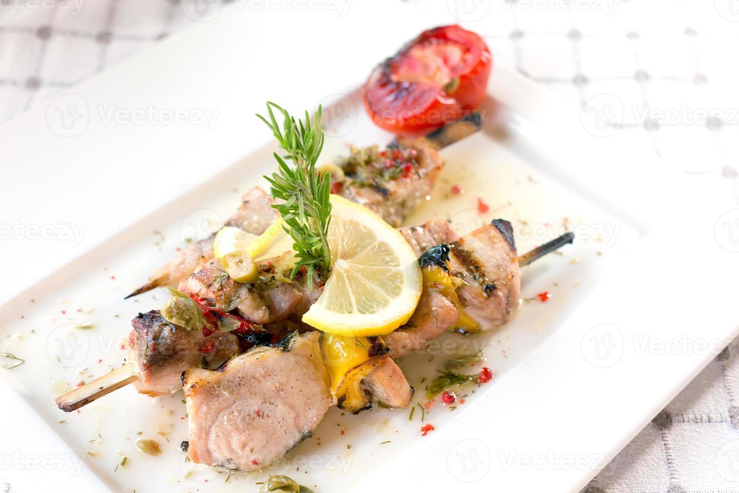 filetto di pesce spada foto