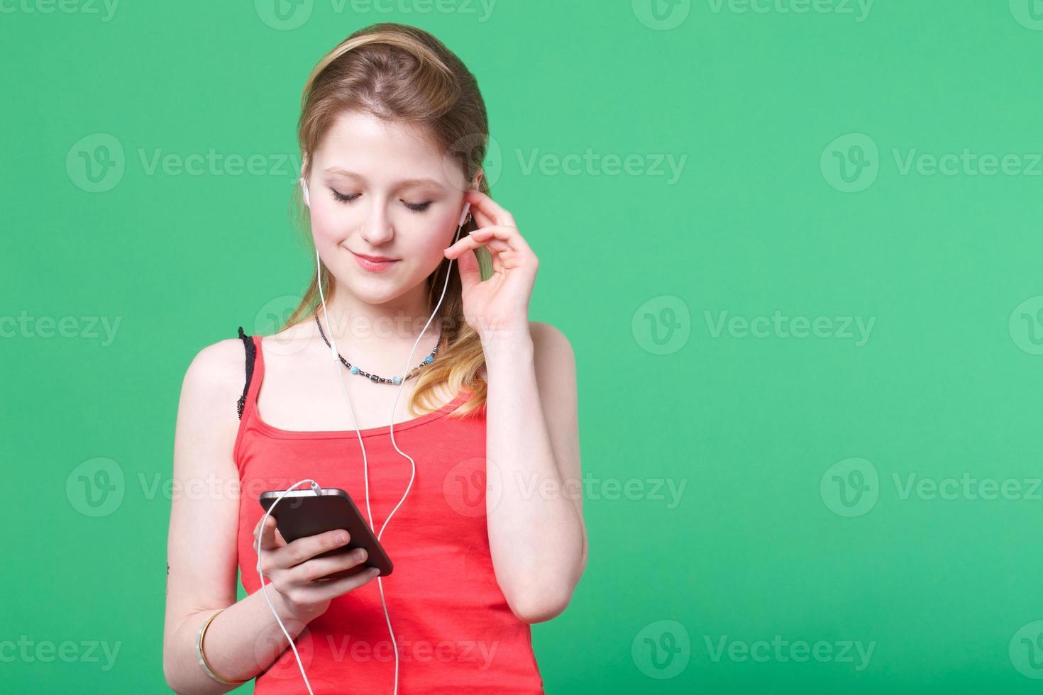 ascoltare musica foto