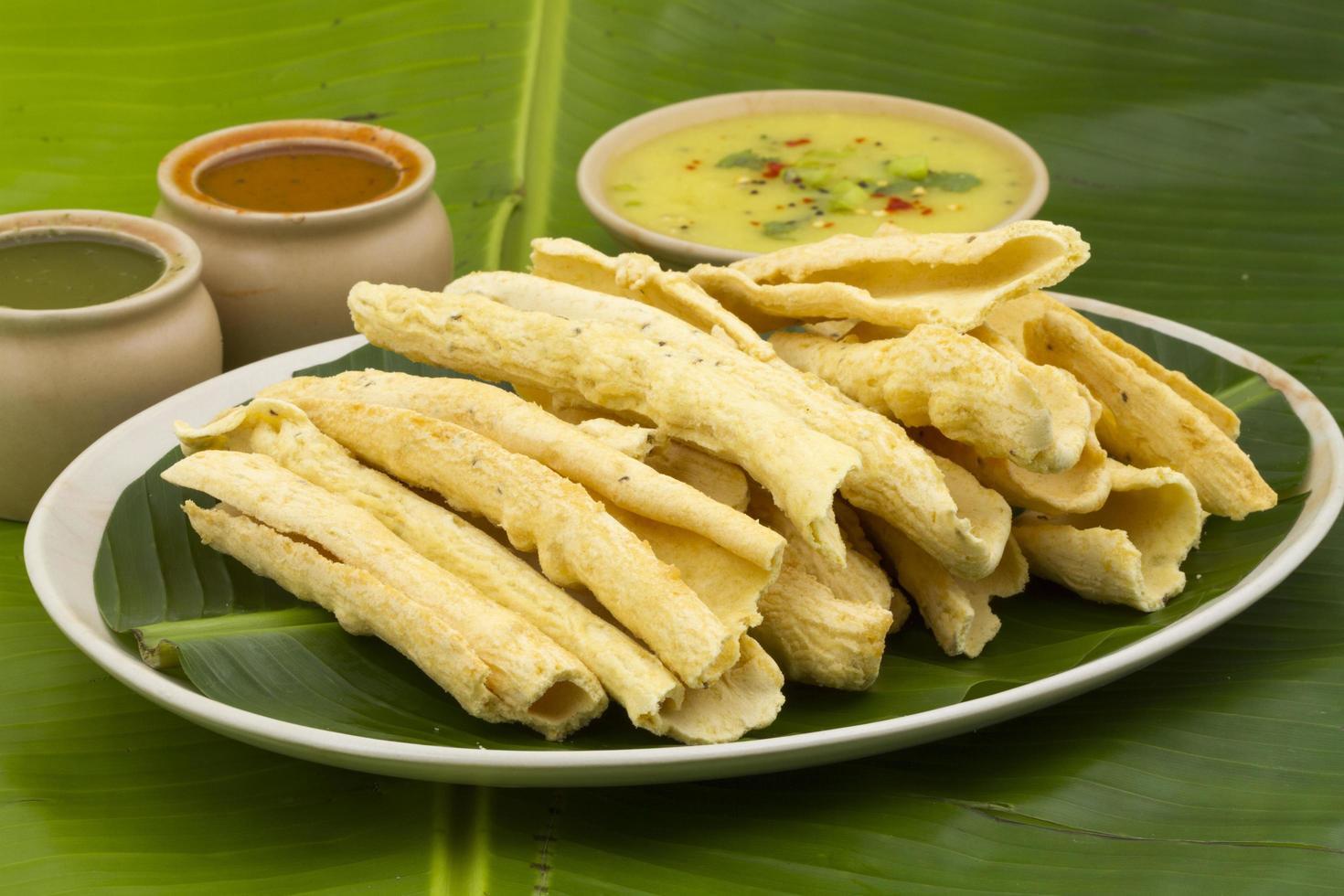 cibo di strada indiano foto