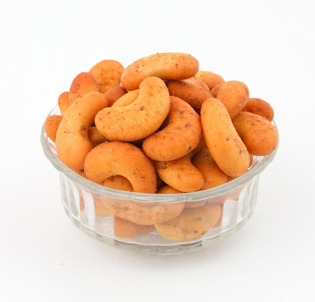 biscotti isolati su bianco foto