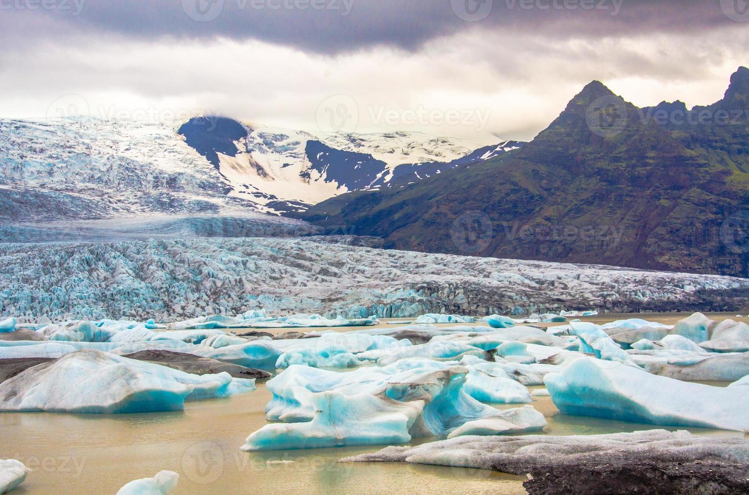 jokursarlon - islanda - lago glaciale foto