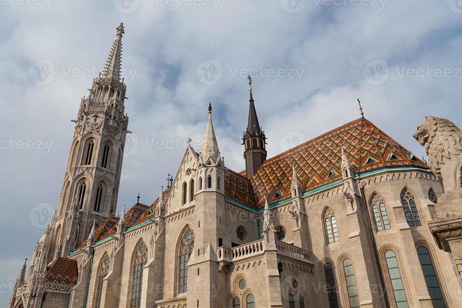 chiesa di mattia, budapest, ungheria foto