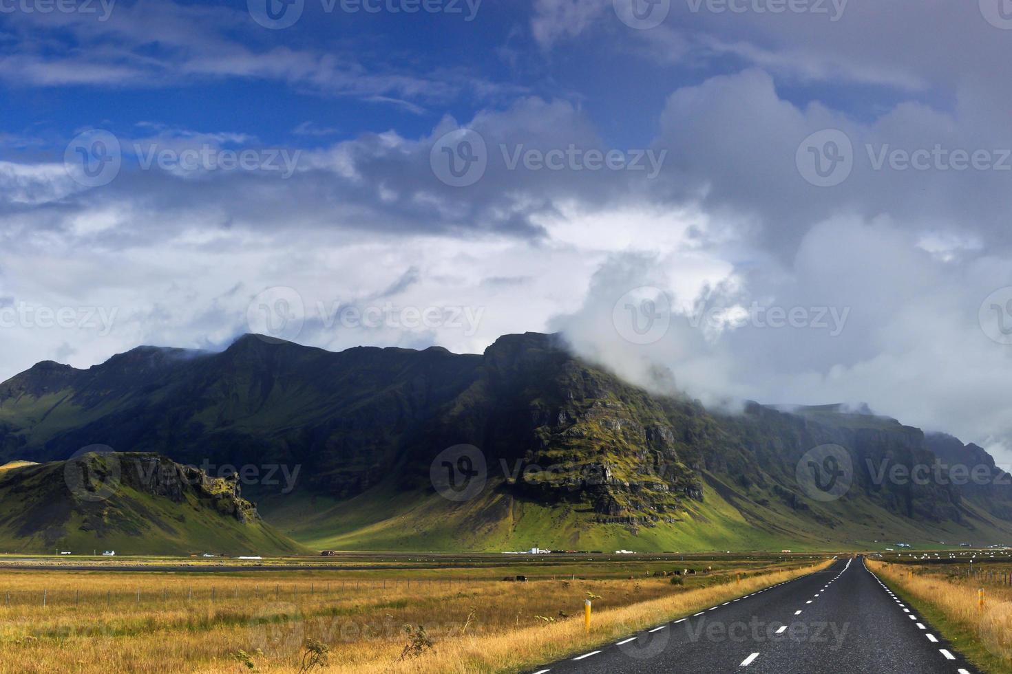 strada islandese foto