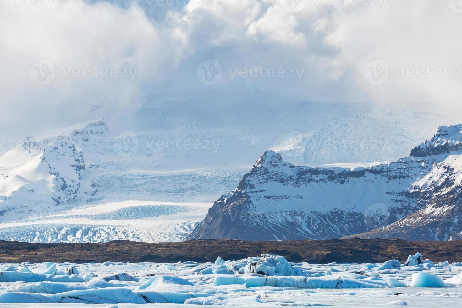 ghiacciaio vatnajokull islanda foto