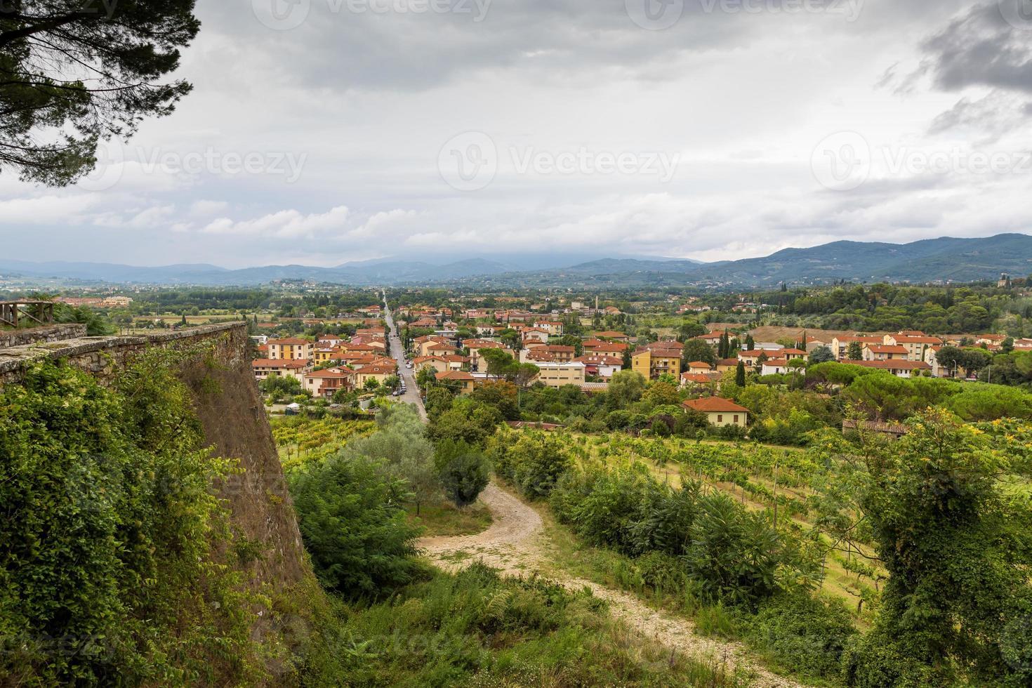 città medievale arezzo, toscana, italia foto