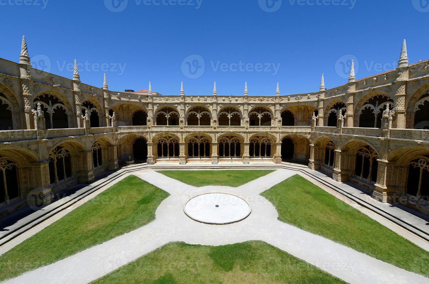 Monastero di Jeronimos, Lisbona, Portogallo foto