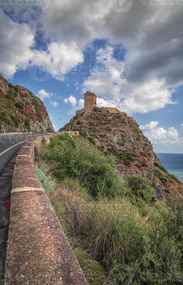 castello sulla collina foto