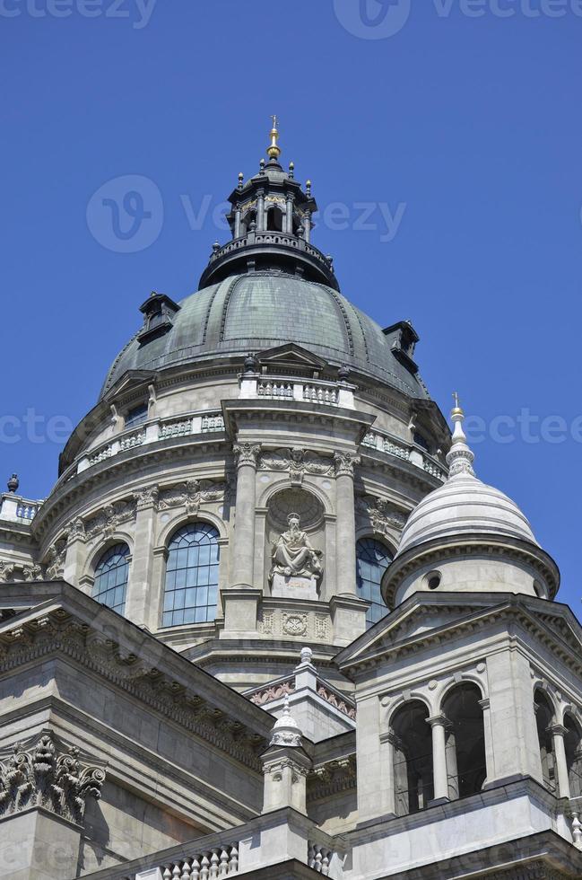 st. la basilica di stephen, budapest. 4 foto