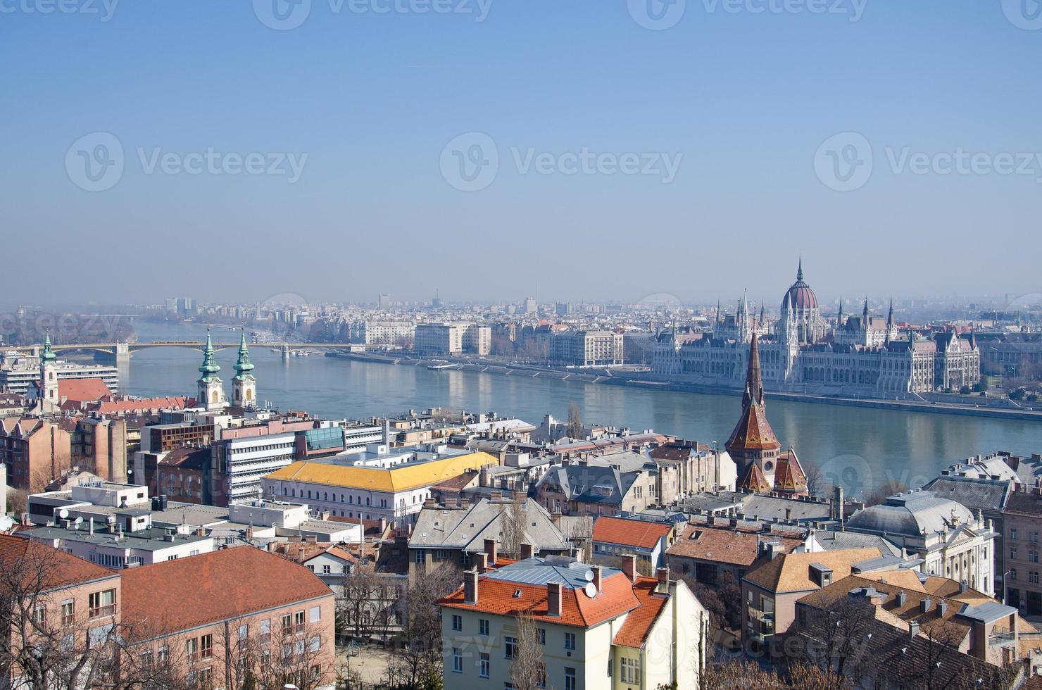 il parlamento (ungheria) a budapest foto