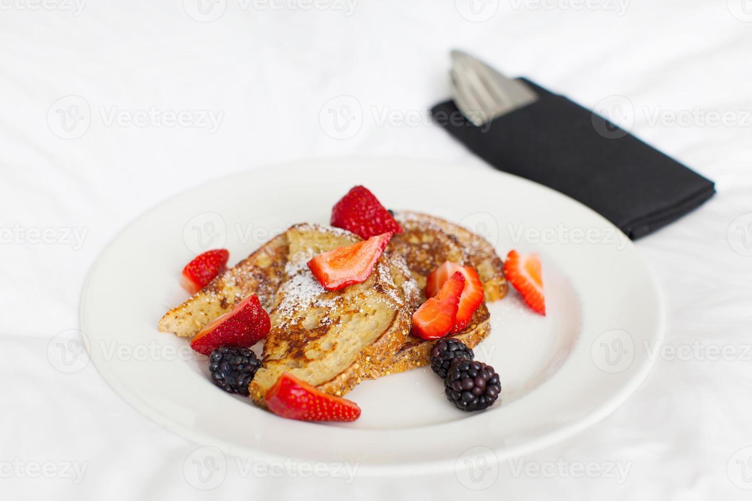 toast alla francese per colazione foto