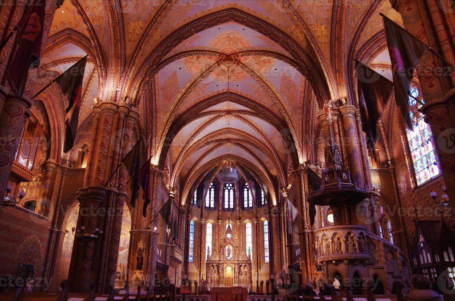 chiesa di mattia, budapest foto