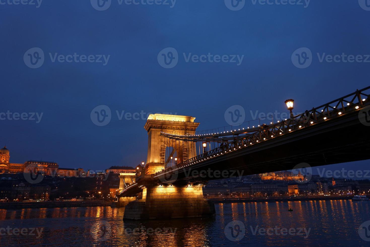 ponte delle catene di budapest foto