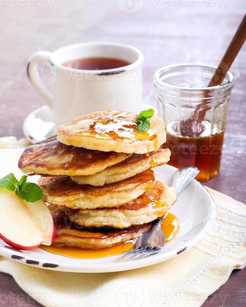 Pancake alla mela foto