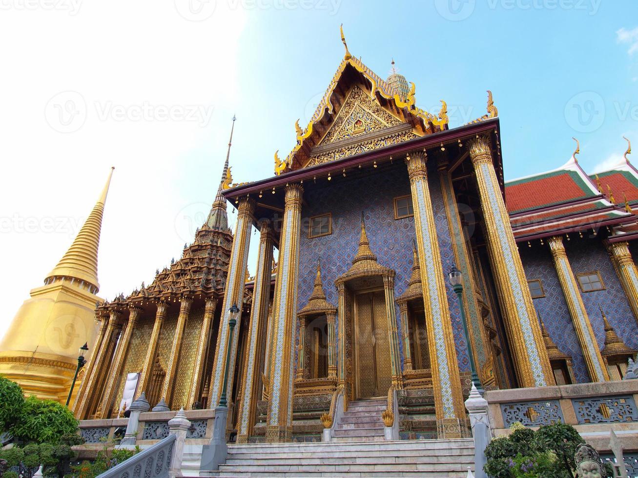 il grand palace di bangkok, thailandia. foto