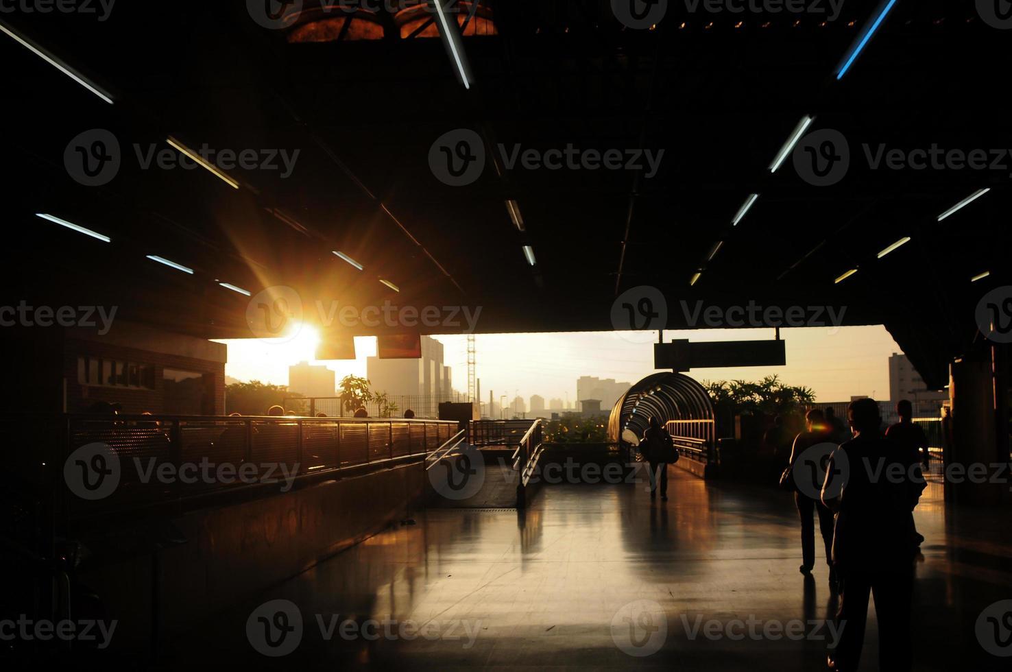 stazione degli autobus foto
