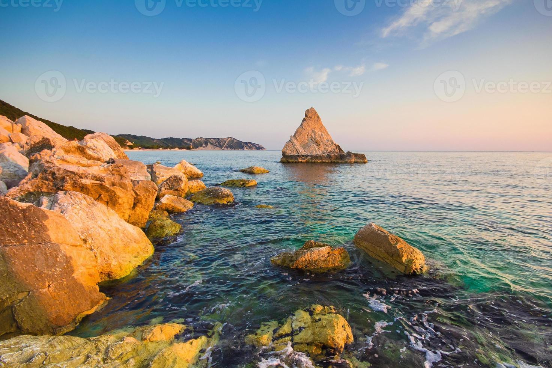 spiaggia la vela - conero foto