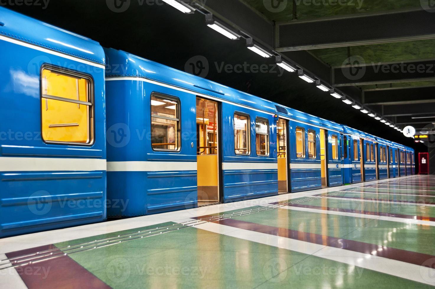 treno a stoccolma foto