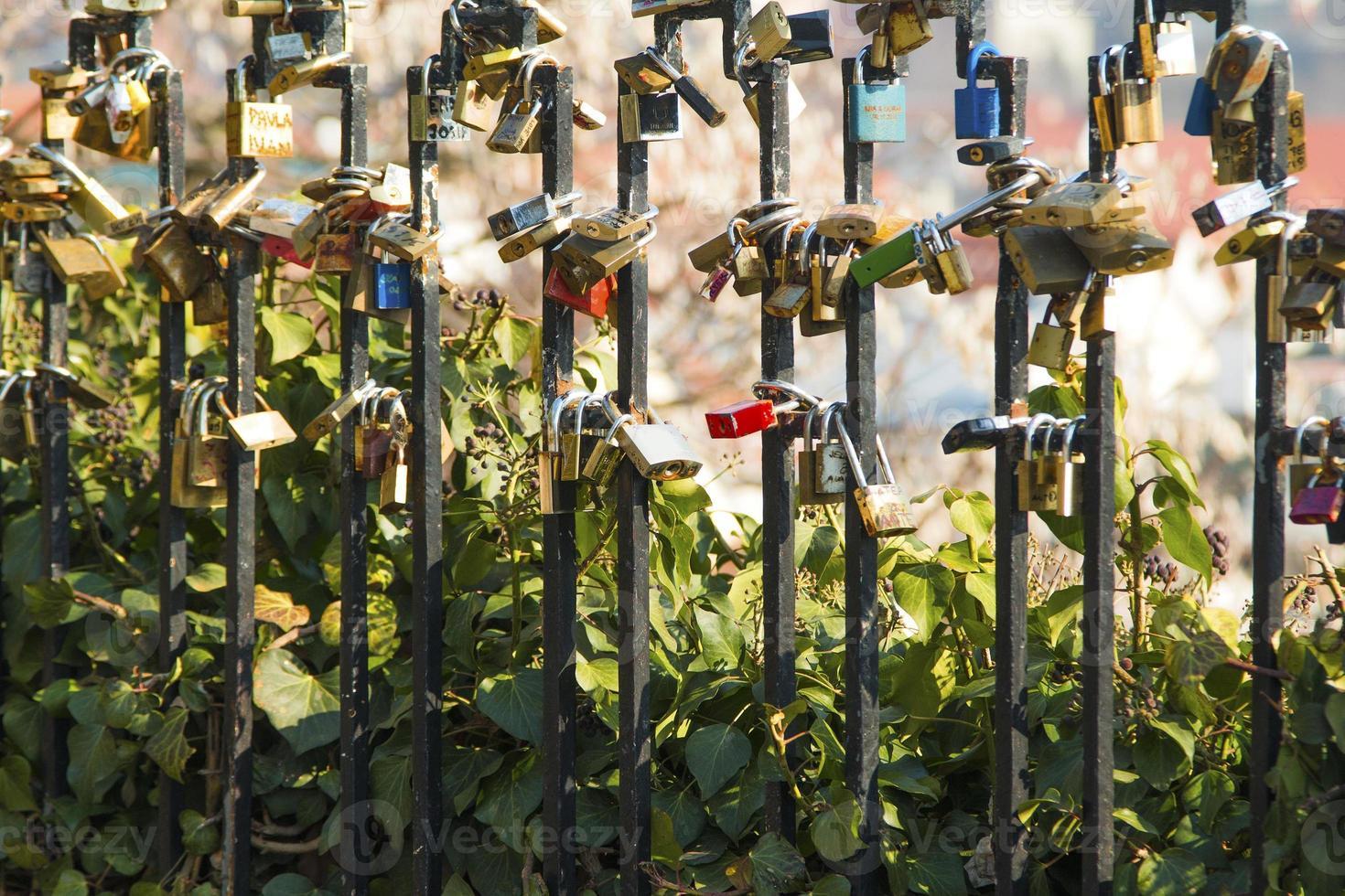 serrature d'amore foto
