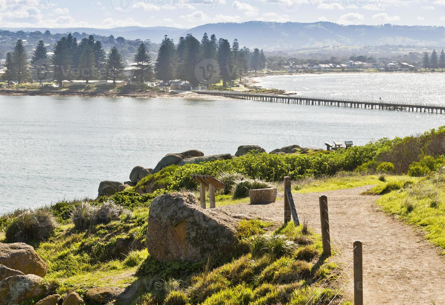 victor harbor, australia meridionale foto